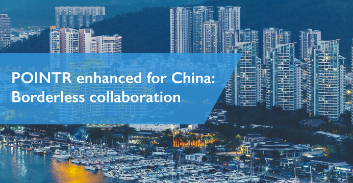 POINTR enhanced for China