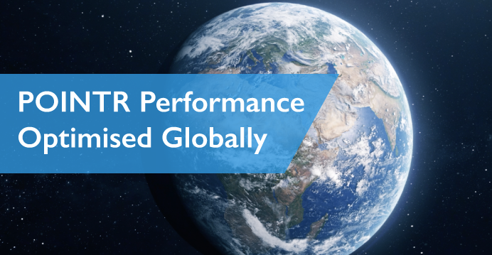 POINTR remote collaboration performance now optimised globally!