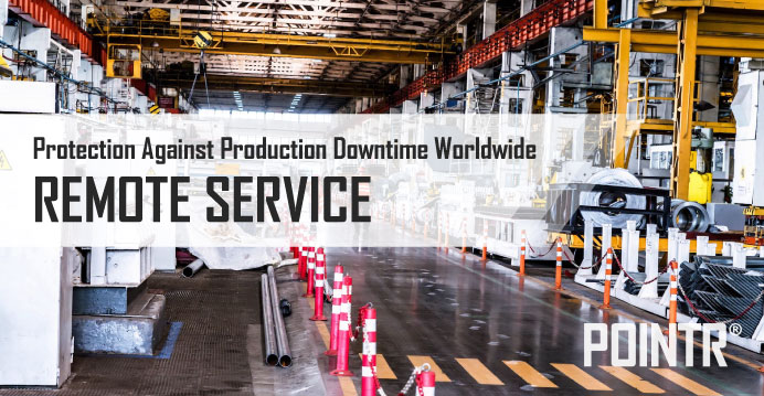 REMOTE SERVICE protects from production losses worldwide