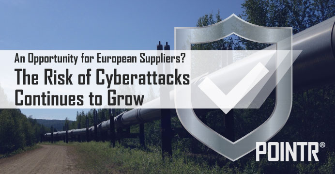 The risk of cyberattacks continues to grow – An opportunity for European suppliers?
